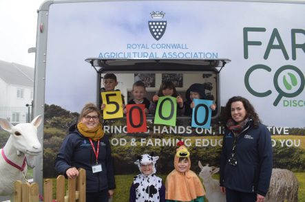 Cornish food and farming education project hits milestone